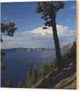 Crater Lake 7 Wood Print