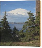 Crater Lake 8 Wood Print