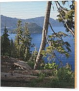 Crater Lake 9 Wood Print