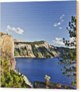 Crater Lake II Wood Print