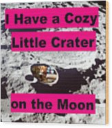 Crater12 Wood Print