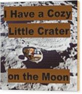 Crater13 Wood Print