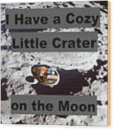 Crater14 Wood Print