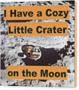 Crater16 Wood Print