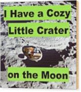 Crater18 Wood Print