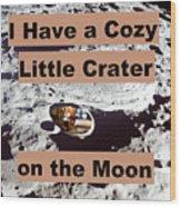 Crater26 Wood Print