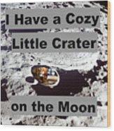 Crater27 Wood Print