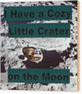 Crater28 Wood Print