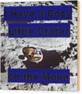 Crater32 Wood Print