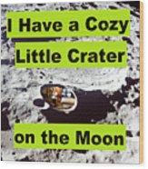Crater39 Wood Print