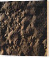 Craters Wood Print