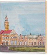 Crawford Market Mumbai Wood Print