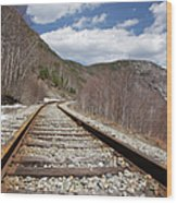 Crawford Notch State Park - Maine Central Railroad Wood Print