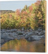 Crawford Notch State Park Wood Print