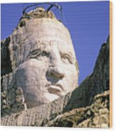 Crazy Horse In Progress II Wood Print