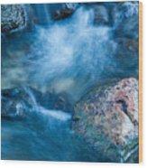 Crazy Water Wood Print