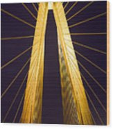 Crb Golden Tower Wood Print