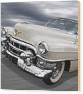 Cream Of The Crop - '53 Cadillac Wood Print