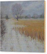 Cream Of Wheat Wood Print