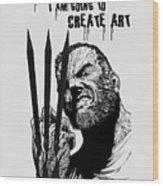 Create Art Wood Print