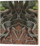 Creation 167 Wood Print