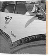 Creative Chrome - 1956 Ford Fairlane Victoria Wood Print