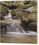 Creek 1 Wood Print