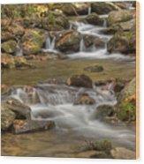 Creek 7 Wood Print