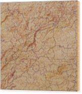 Crema Valencia Granite Wood Print