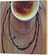 Creme Brule Wood Print