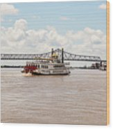 Creole Queen New Orleans Wood Print