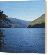 Crescent Lake, Washington Wood Print
