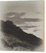 Crescent Moon Wood Print