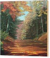 Cressman's Woods Wood Print