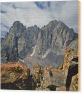 210925-crestone Needle And Peak  Wood Print