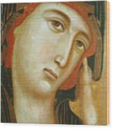Crevole Madonna Wood Print