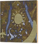 Crewel Soprano Wood Print