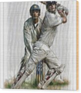 Cricket2 Wood Print