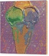 Crill's Ice C.r.e.a.m. Wood Print