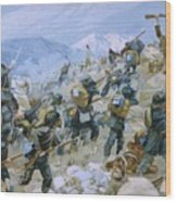 Crimean War And The Battle Of Chernaya Wood Print by Italian School