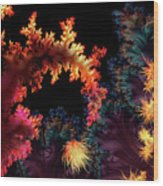 Crimson Tide Wood Print