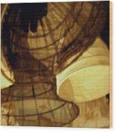 Crinolines Wood Print