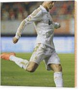 Cristiano Ronaldo 2 Wood Print