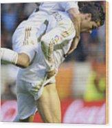 Cristiano Ronaldo 5 Wood Print