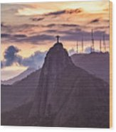 Cristo Redentor - Christ The Redeemer Wood Print