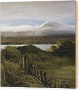 Croagh Patrick, County Mayo, Ireland Wood Print