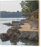 Croatia Seaside Wood Print