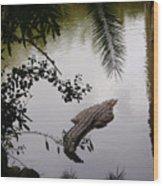 Croco Wood Print