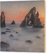 Crohy Head Sea Arch Wood Print