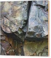 Croix Stone 1 Wood Print